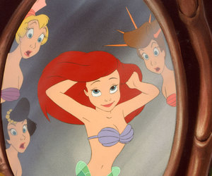 ariel, ocean, and beauty image