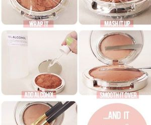 diy, makeup, and make up image
