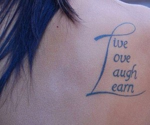 tattoo and live image