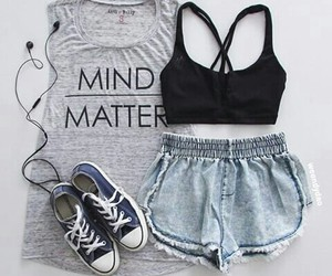 fashion, outfit, and sport image