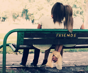 friends and boy image