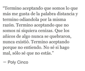 amor, frases, and poly cinco image