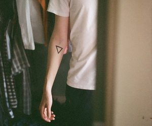 boy, tattoo, and hipster image