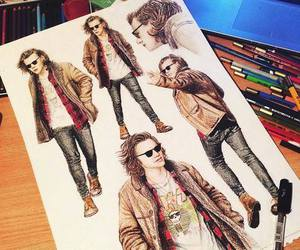 beautiful and Harry Styles image