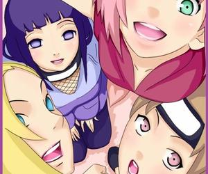 anime, sakura, and ino image