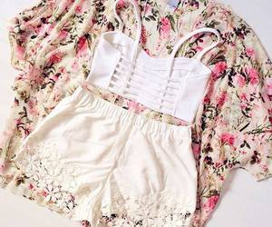 outfit, fashion, and kimono image