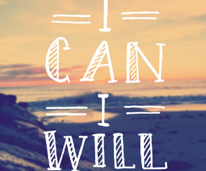 i can, motivation, and i will image