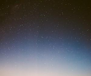 blue, sky, and night image