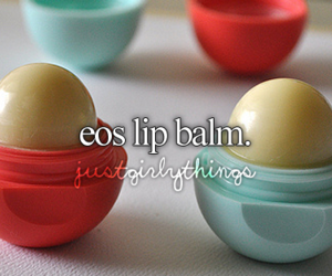 lip balm, eos, and just girly things image