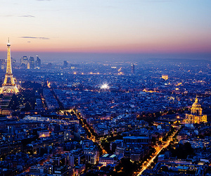 paris, light, and city image