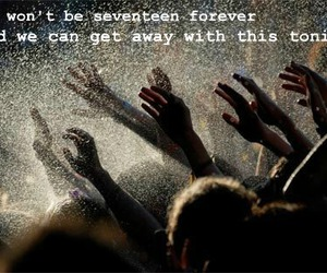 forever, Lyrics, and quote image