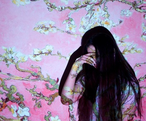 girl, art, and icon image
