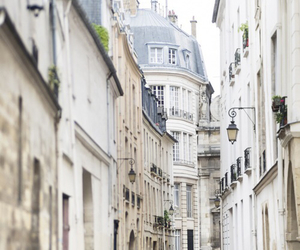 city, paris, and street image