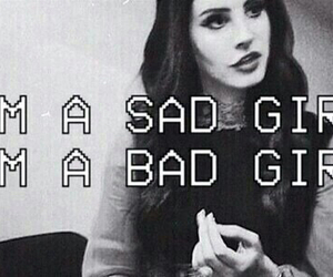 sad, sad girl, and lana del rey image