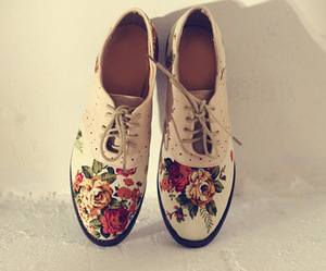 oxford, shoes, and girly image