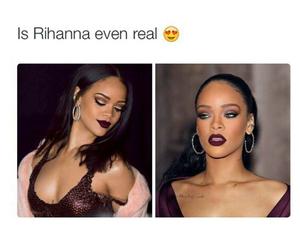 rihanna and real image