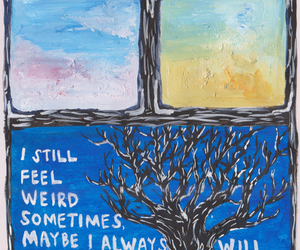 art, weird, and quote image