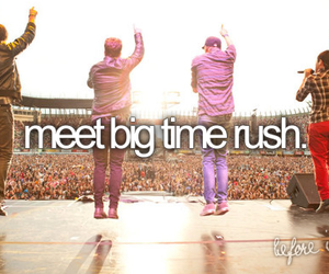 big time rush, before i die, and btr image