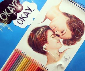 art, drawing, and tfios image