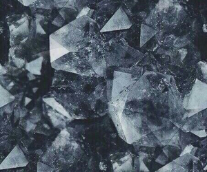 crystal, blue, and background image