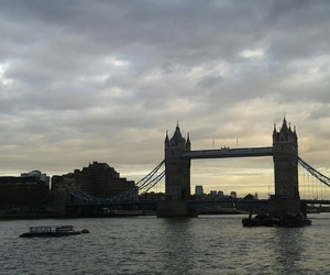bridge, london, and tower image