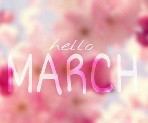 hello and march image
