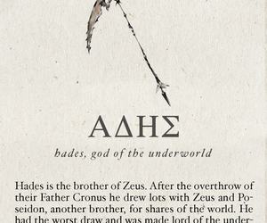 hades, mythology, and percy jackson image