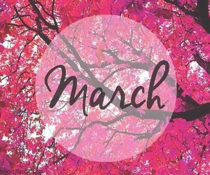 march and pink image