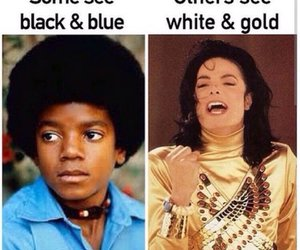 blue and black, funny, and white and gold image