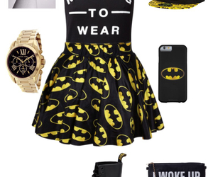 batman, dr martens, and iphone image