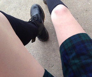 pale, grunge, and outfit image