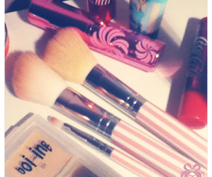 benefit, Brushes, and girly image