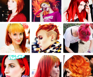 hair, hayley williams, and paramore image