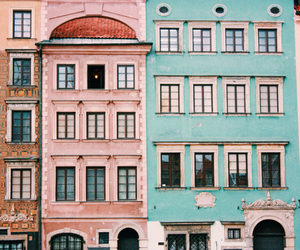 architecture, colorful, and Houses image