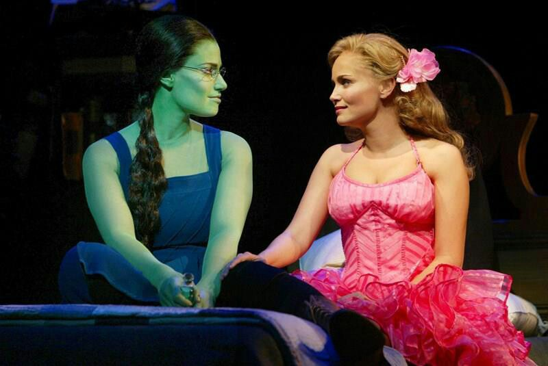 broadway, musical, and wicked image