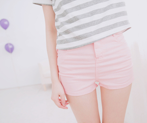 cute, pink, and style image
