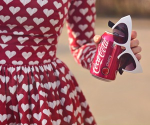 babydoll, cocacola, and dress image