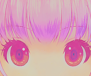 anime, kawaii, and eyes image