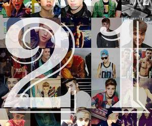 happy birthday and justin image