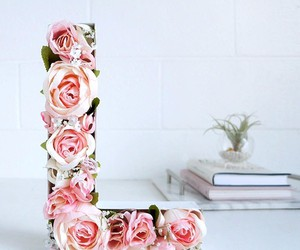 rose, flowers, and diy image