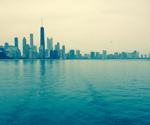 chicago, Lake Michigan, and skyline image