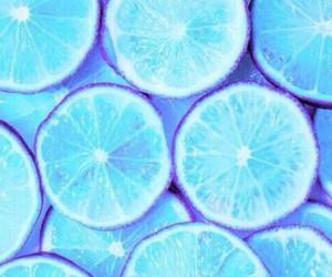 lemon, wallpaper, and blue image