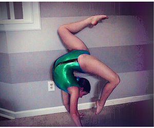 amazing, contortionist, and gymnastics image
