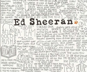 ed sheeran, song, and music image