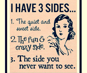 crazy, side, and sweet image