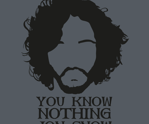 north, kit harington, and quote image