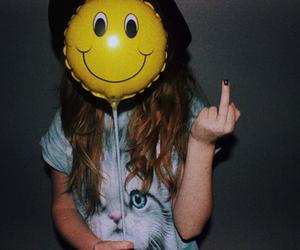 fake smile, happy, and sad image