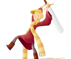 art, disney, and the sword and the stone image