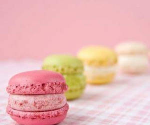 pink, food, and green image