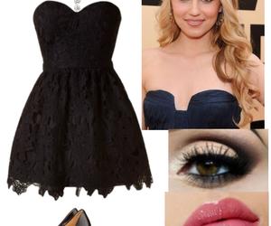 black dress, fashion, and dress image